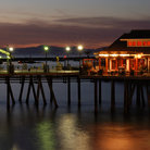 Picture - Evening view of the Redondo Beach Pier.