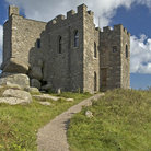 Picture - The stone Carn Brea Castle near Redruth.