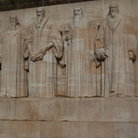 Picture - Reformation Wall in Geneva.