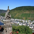 Picture - Looking out from the Cochem Castle.