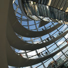 Picture - The interior of the Reichstag building in Berlin.