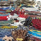 Picture - Beads in a market, Nairobi.