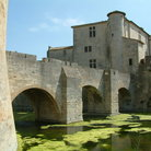 Picture - The castle and moat at Aigues Mort.