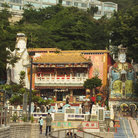 Picture - Statue park in Repulse Bay, Hong Kong.