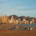 Picture - Playa Levante in Benidorm.