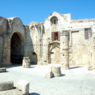 Picture - The Ruins of the temple of the knights of St. John on the island of Rhodes.
