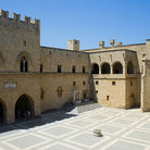 Picture - Courtyard of the Grand Master's Palace, Rhodes.