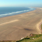 Picture - The beach at Rhossili.