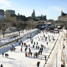 Picture - Enjoying a day of skating on the Rideau Canal in Ottawa.