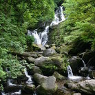 Picture - Waterfall off the Ring of Kerry.