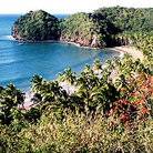 Picture - View of Playa Medina near Río Caribe.
