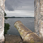 Picture - An old canon at Rio Ducle.