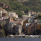 Picture - Riomaggiore on the Italian Riviera.