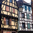 Picture - Architectural detial in Riquewihr.