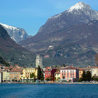 Picture - View of Riva del Garda from the lake.
