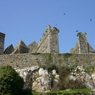 Picture - Wall at the Rock of Cashel.