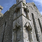 Picture - Corner tower of the Rock of Cashel.