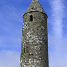 Picture - Round tower at the Rock of Cashel.