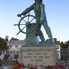 Picture - Statue of Fisherman Sailor in Rockport, MA.