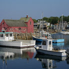Picture - Marina in Rockport, Massachusetts.
