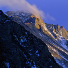 Picture - Long's Peak in Rocky Mountain National Park.