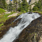 Picture - Tyndall Creek in Rocky Mountain National Park.