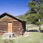 Picture - A building at Never Summer Ranch In Rocky Mountain National Park.