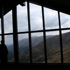 Picture - View from the Visitors Center for Rocky Mountain National Park.