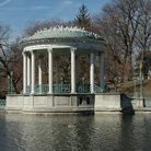 Picture - Temple of Music in Roger Williams Park - Providence, Rhode Island.