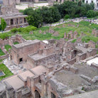 Picture - The forum, ancient Rome.