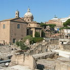 Picture - The Roman Forum in Rome.