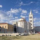 Picture - The remains of the Roman Forum in Zadar.