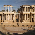 Picture - Roman Ruins at Merida.