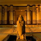 Picture - A statue in the Rosicrucian Egyptian Museum in San Jose.