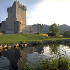 Picture - Ross Castle in Killarney.