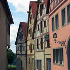 Picture - A street in Rothenburg.