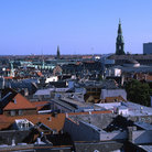 Picture - Copenhagen seen from Round Tower.