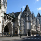 Picture - The Royal Courts of Justice on Fleet Street in London.