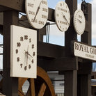 Picture - Clock and calendar at the Royal Gorge Bridge.