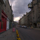 Picture - A scene along Edinburgh's Royal Mile.