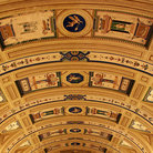Picture - Ceiling in the Royal Monastery and Palace of the Escorial in El Escorial.