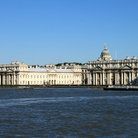 Picture - The Royal Naval College in Greenwich seen from the water.
