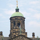 Picture - Detail of dome on Royal Palace in Amsterdam.
