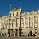 Picture - The Royal Palace in Madrid.