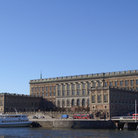 Picture - The Royal Palace in Stockholm.