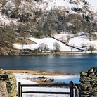 Picture - Winter view of Rydal Water in the Lake District, Cumbria.