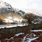 Picture - Winter scene at at Rydal Water.