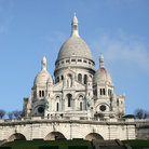 Picture - Full view of Sacre Coeur in Paris.