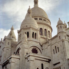 Picture - Close up view of Sacre Coeur in Paris.