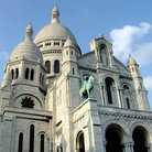 Picture - Sacre Coeur on Montmartre in Paris.